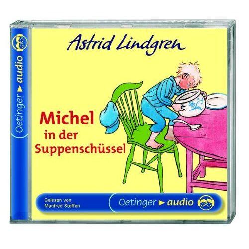 Astrid Lindgren - Michel in der Suppenschüssel. CD - Preis vom 27.02.2021 06:04:24 h