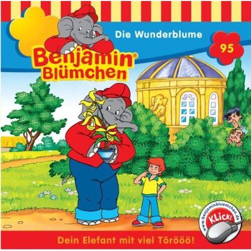 Benjamin Bl³mchen - Benjamin Blümchen. Die Wunderblume. CD. - Preis vom 20.10.2020 04:55:35 h