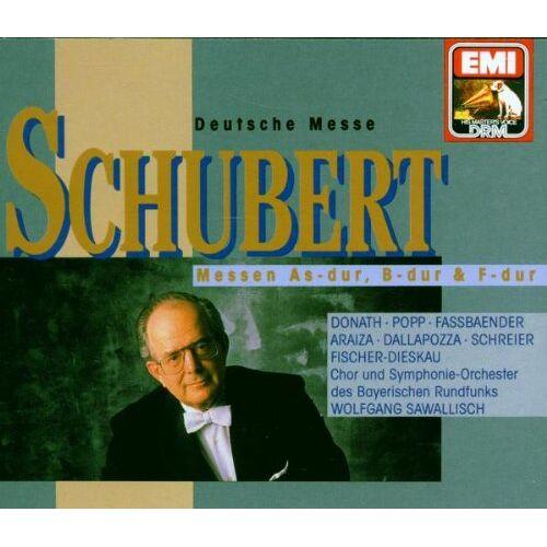 Dietrich Fischer-Dieskau - Messen D.872, 678, 324, 105 - Preis vom 27.02.2021 06:04:24 h