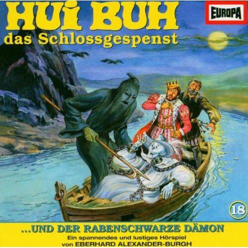 Hui Buh 18 - Hui Buh das Schlossgespenst 18 und der rabenschwarze Dämon. CD. - Preis vom 03.09.2020 04:54:11 h