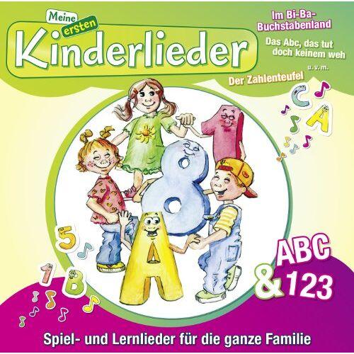 Kinderliederbande - Meine Ersten Kinderlieder-ABC & 123 - Preis vom 08.05.2021 04:52:27 h