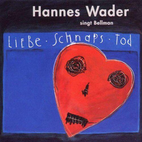 Hannes Wader - Liebe,Schnaps Und Tod - Preis vom 20.01.2021 06:06:08 h