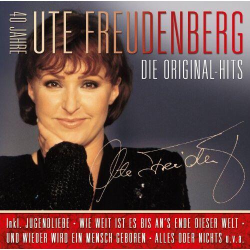 Ute Freudenberg - Die Original Hits - 40 Jahre Ute Freudenberg - Preis vom 19.10.2020 04:51:53 h