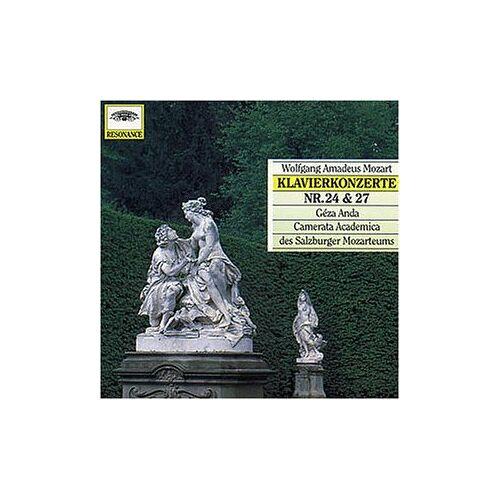 Anda - Klavierkonzerte 24 & 27 (Resonance) - Preis vom 12.04.2021 04:50:28 h