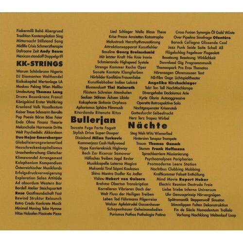 Kk-Strings - Bullerjan Nächte - Preis vom 05.09.2020 04:49:05 h