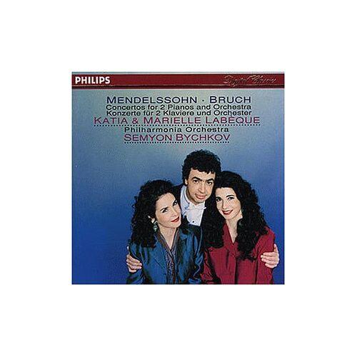 K. Labeque - Mendelssohn / Bruch: Konzerte für 2 Klaviere - Preis vom 20.10.2020 04:55:35 h