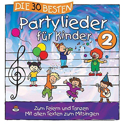 Simone Sommerland - Die 30 besten Partylieder für Kinder 2 - Preis vom 10.04.2021 04:53:14 h