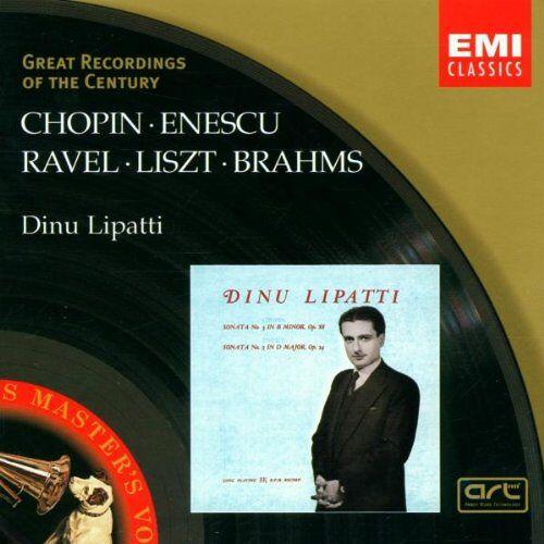 Dinu Lipatti - Klaviersonaten/Walzer - Preis vom 16.05.2021 04:43:40 h