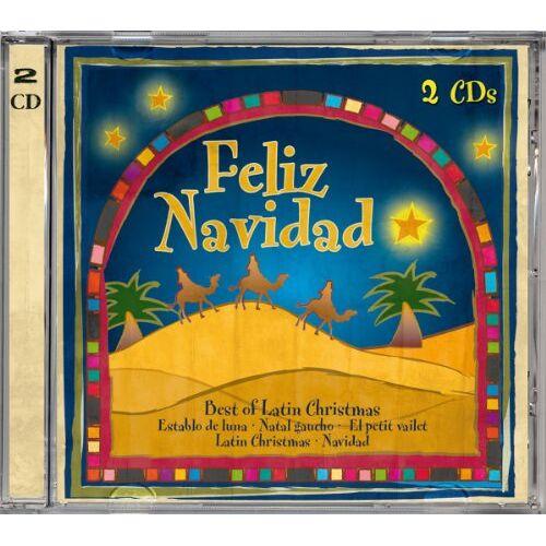 Various - Feliz Navidad-Best of Latin Christmas - Preis vom 14.04.2021 04:53:30 h