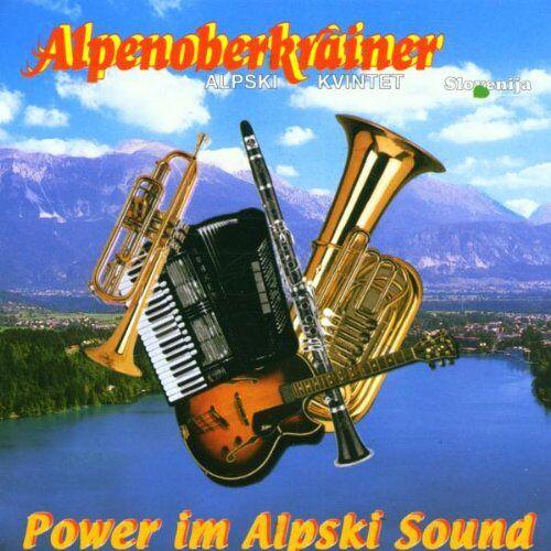 Alpenoberkrainer - Power im Alpski Sound - Preis vom 06.05.2021 04:54:26 h