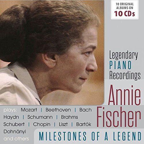 Annie Fischer - Annie Fischer-Milestones Of A Piano Legend - Preis vom 26.02.2021 06:01:53 h