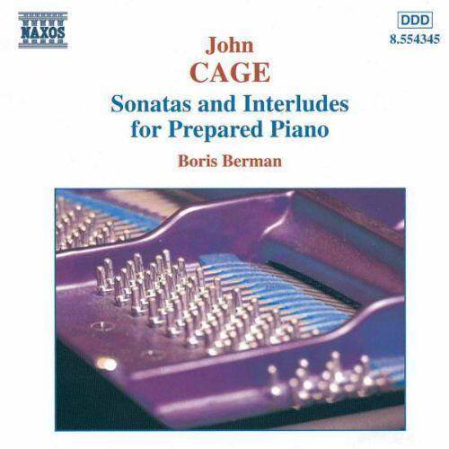Boris Berman - Sonaten und Interludien für präpariertes Klavier - Preis vom 17.04.2021 04:51:59 h