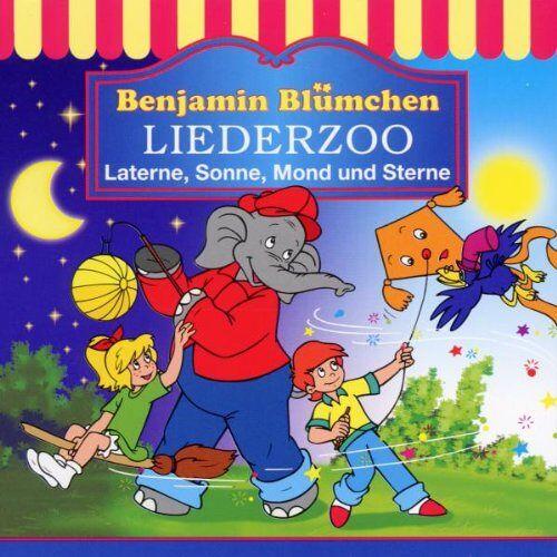 Benjamin Blümchen - Liederzoo: Laterne, Sonne Mond und Sterne - Preis vom 17.04.2021 04:51:59 h