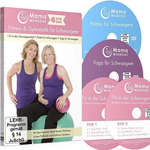 Verena Wiechers - MamaWORKOUT - Fitness & Gymnastik für Schwangere - 4-DVD-Box zum Sparpreis ++ 1. Fit in der Schwangerschaft (2 DVDs) ++ 2. Pilates für Schwangere ++ ... Schwangere ++ von Expertin Verena Wiechers - Preis vom 06.12.2019 06:03:57 h