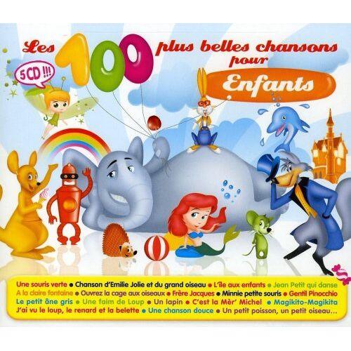 Les 100 Plus Belles Chansons P - Les 100 Plus Belles Chansons pour Enfants - Preis vom 19.10.2020 04:51:53 h