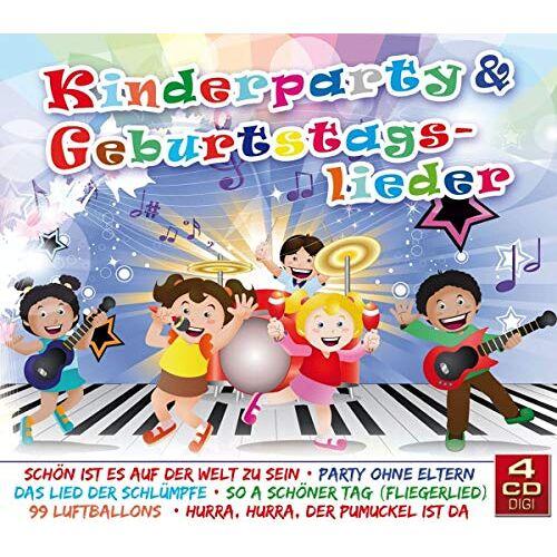 Divers - Kinderparty & Geburtstagslieder - Preis vom 20.10.2020 04:55:35 h