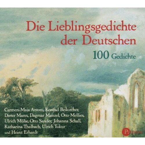 Otto Mellies - Die Lieblingsgedichte der Deutschen. 100 Gedichte /2 CDs: 100 Gedichte - Preis vom 06.05.2021 04:54:26 h
