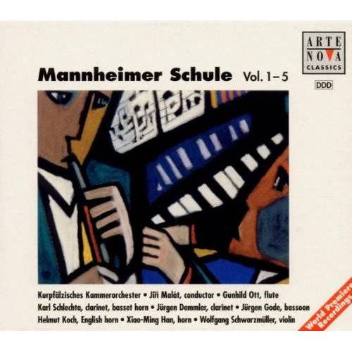 Jiri Malat - Mannheimer Schule Vol. 1-5 - Preis vom 20.10.2020 04:55:35 h