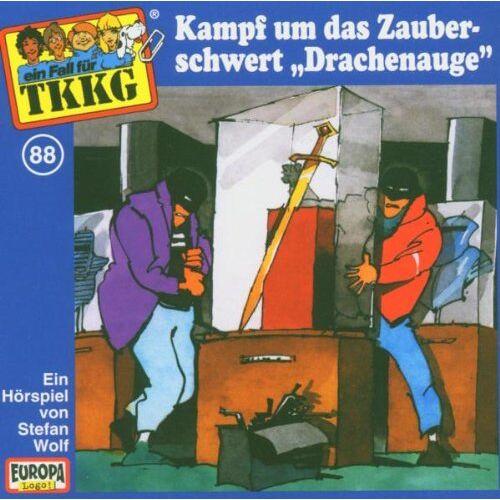 Tkkg 88 - 088/Kampf Um das Zauberschwert Drachenauge - Preis vom 05.09.2020 04:49:05 h