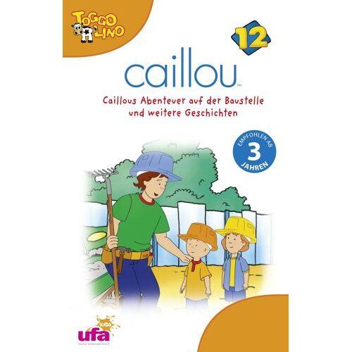 Caillou 12 - Caillou 12: Audio Caillous Abenteuer auf der Baust [Musikkassette] - Preis vom 05.05.2021 04:54:13 h