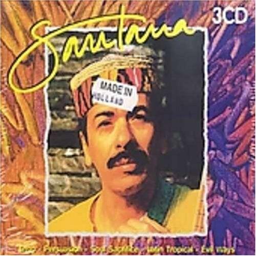 Santana - Santana [3-CD-Box] - Preis vom 20.10.2020 04:55:35 h