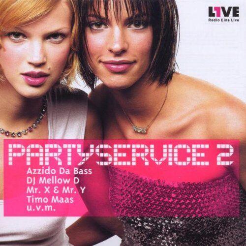 Various - Partyservice Vol.2 - Preis vom 20.10.2020 04:55:35 h
