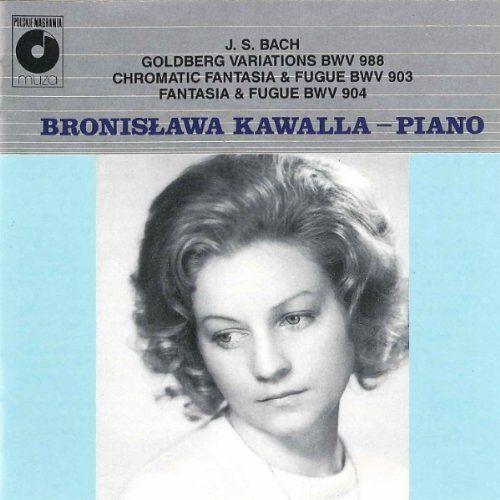 Bronislawa Kawalla - Bwv 988+903+904 - Preis vom 05.09.2020 04:49:05 h
