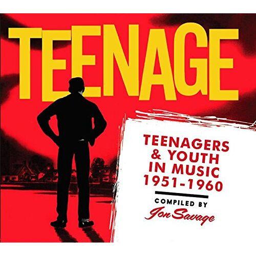 Various - Teenage; Teenagers & Youth in Music 1951-1960 - Preis vom 03.04.2020 04:57:06 h