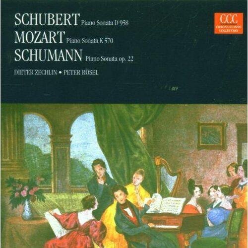 Dieter Zechlin - Klaviersonaten D 958 / KV 570 / Op. 22 - Preis vom 20.10.2020 04:55:35 h