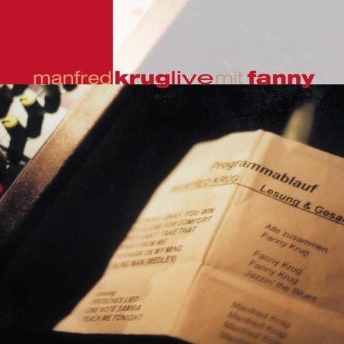Manfred Krug - Manfred Krug Live Mit Fanny - Preis vom 28.02.2021 06:03:40 h