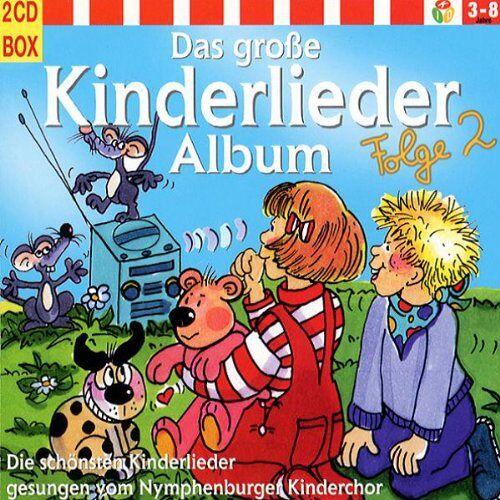 Kinderlieder - Das Große Kinderlieder Album 2 - Preis vom 11.05.2021 04:49:30 h