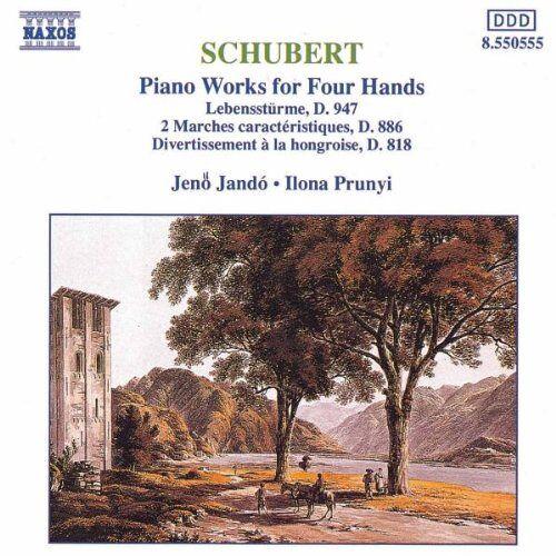 Jenö Jando - Schubert: Werke für Klavier vierhändig - Preis vom 20.10.2020 04:55:35 h