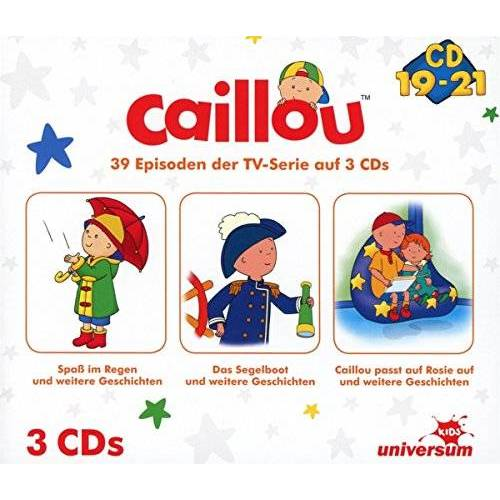 Caillou - Caillou Hörspielbox 7 (CD 19-21) - Preis vom 28.11.2020 05:57:09 h