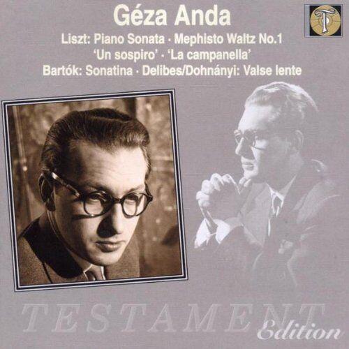 piano Geza Anda - Geza Anda spielt Liszt u.a. (Aufnahmen 1954) - Preis vom 05.05.2021 04:54:13 h