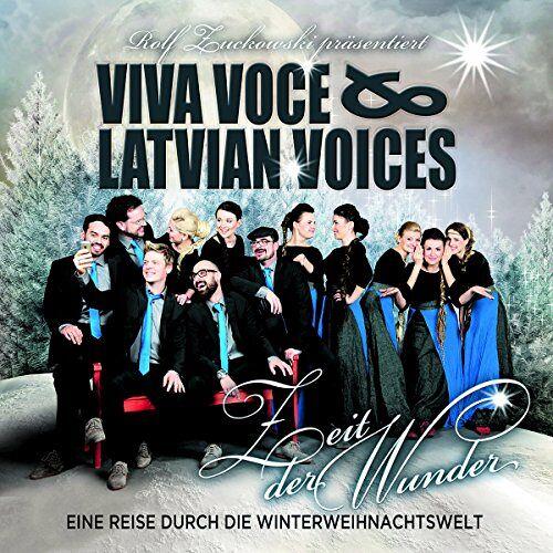 Viva Voce & Latvian Voices - Zeit der Wunder - Preis vom 20.10.2020 04:55:35 h