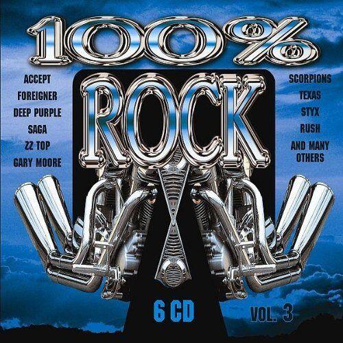 Various - 100 Prozent Rock Vol.3 - Preis vom 05.05.2021 04:54:13 h
