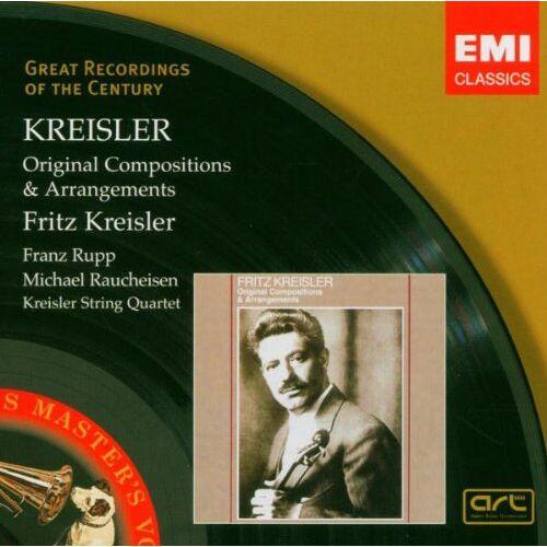 Fritz Kreisler - Kreisler Spielt Kreisler - Preis vom 25.10.2020 05:48:23 h