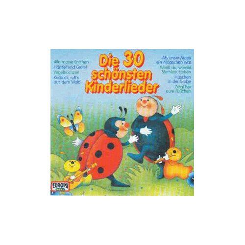 Warburger Märchenkinder - Die 30 Schönsten Kinderlieder - Preis vom 20.10.2020 04:55:35 h
