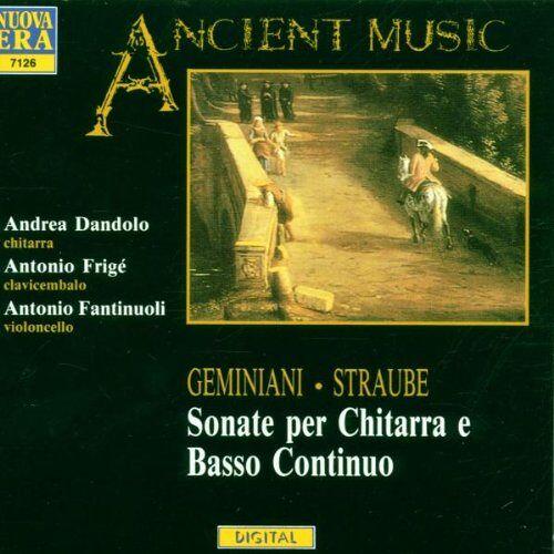 Dandolo - Sonaten für Gitarre & B.C. - Preis vom 28.02.2021 06:03:40 h