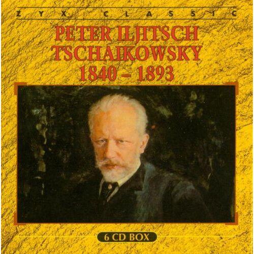 Tschaikowsky, Peter Iljitsch - Peter I. Tschaikowsky (6 CD) - Preis vom 20.10.2020 04:55:35 h
