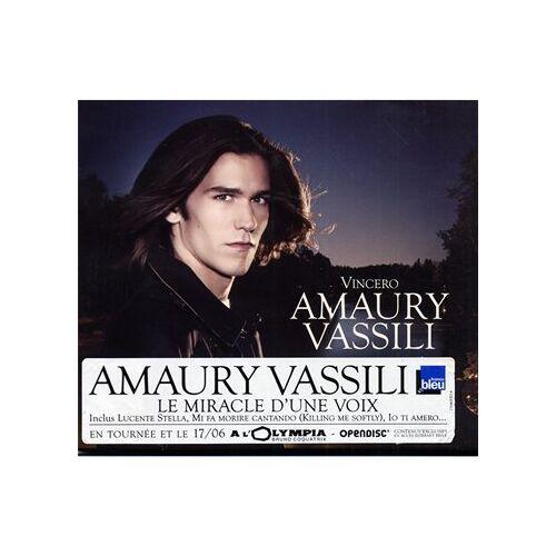 Amaury Vassili - Vincero [Digipack] - Preis vom 14.04.2021 04:53:30 h