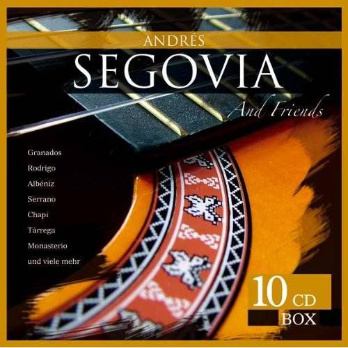 Andres Segovia - Andres Segovia & Friends - 10 CD Box - Preis vom 20.10.2020 04:55:35 h