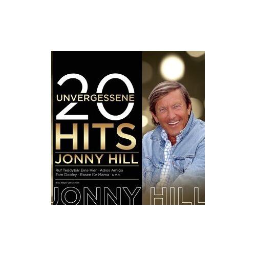 Jonny Hill - 20 unvergessene Hits - Preis vom 24.02.2021 06:00:20 h