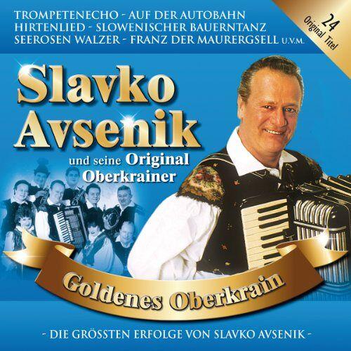 Avsenik, Slavko und Seine Original Oberkrainer - Goldenes Oberkrain - Preis vom 09.05.2021 04:52:39 h