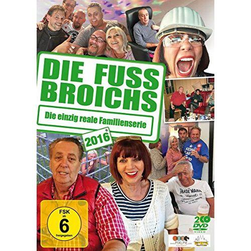 Frank Fussbroich - Die Fussbroichs 2016 - Die einzig reale Familienserie [2 DVDs] - Preis vom 20.10.2020 04:55:35 h