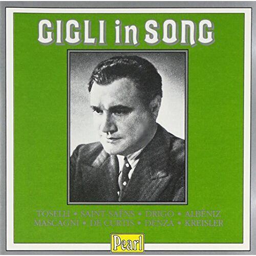 Beniamino Gigli - Gigli In Song - Preis vom 28.02.2021 06:03:40 h