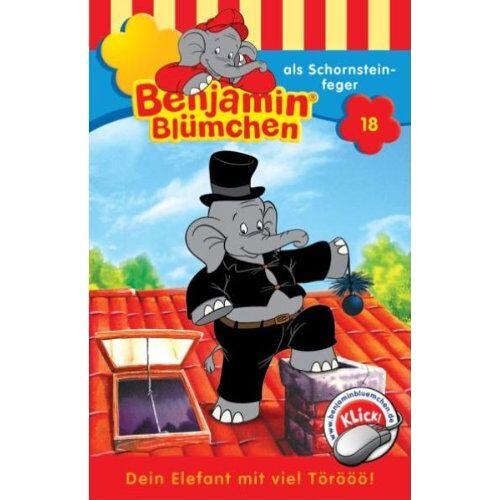 Benjamin Blümchen - Folge 18: als Schornsteinfeger [Musikkassette] - Preis vom 20.10.2020 04:55:35 h