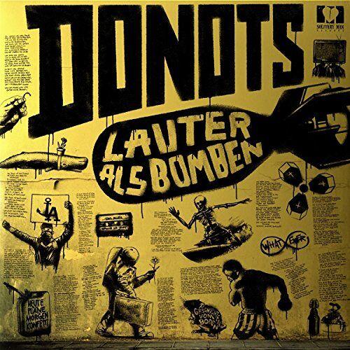 Donots - Lauter als Bomben (gelbe Vinyl LP + CD) [Vinyl LP] - Preis vom 21.04.2021 04:48:01 h