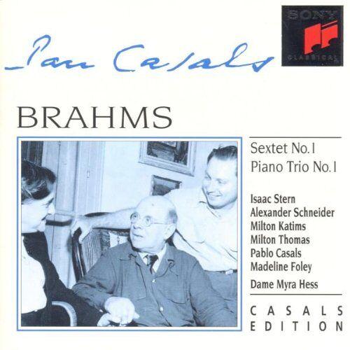 Casals - Casals Edition: Brahms - Preis vom 04.10.2020 04:46:22 h