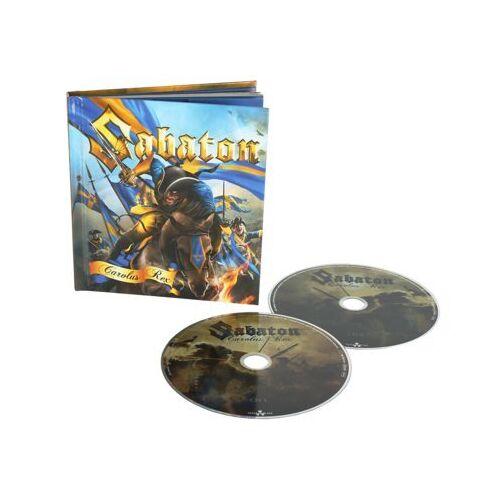 Sabaton - Carolus Rex (Digi Book mit Bonus CD) - Preis vom 28.02.2021 06:03:40 h